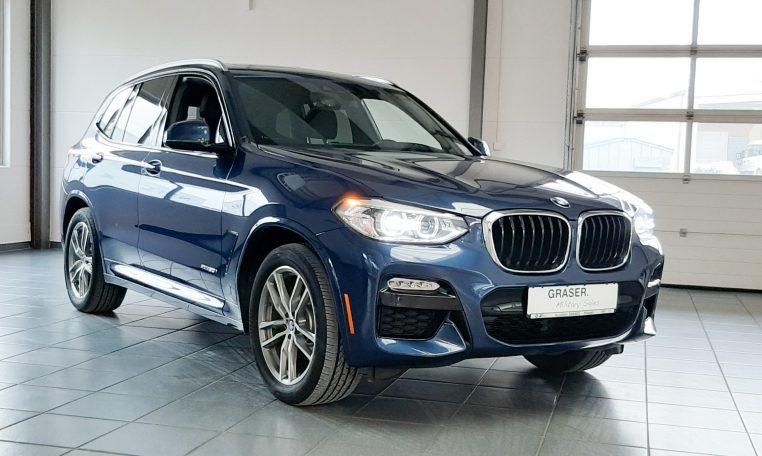 BMW X3 30i xDrive US Spec Phytonic Blue Metallic Exterior Color